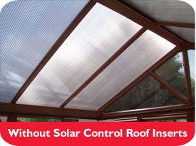 Without Solar Control Roof Inserts